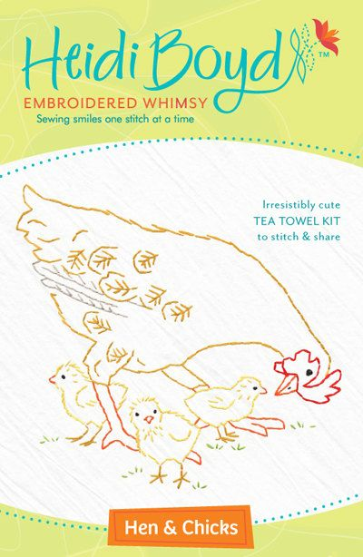 17 Best Images About Heidi Boyd Embroidery Kits On