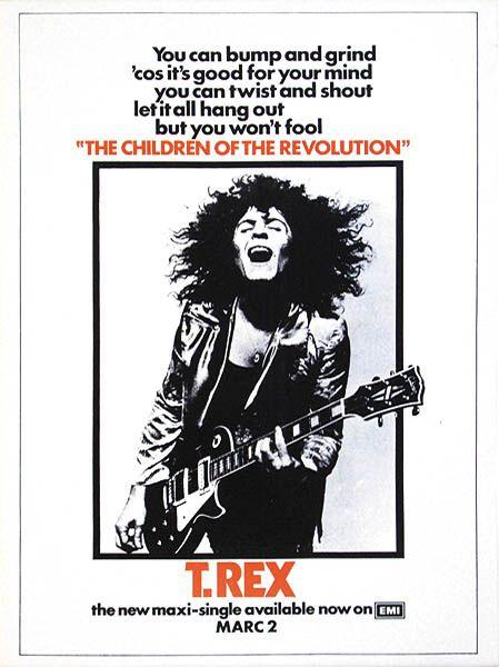 T. Rex poster.