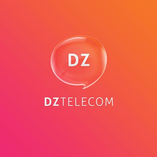 DZ Telecom by Antitipo , via Behance