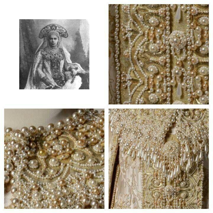 Grand Duchess Xenia Alexandrovna Romanova of Russia's 1903 Winter Ball costume.A♥W