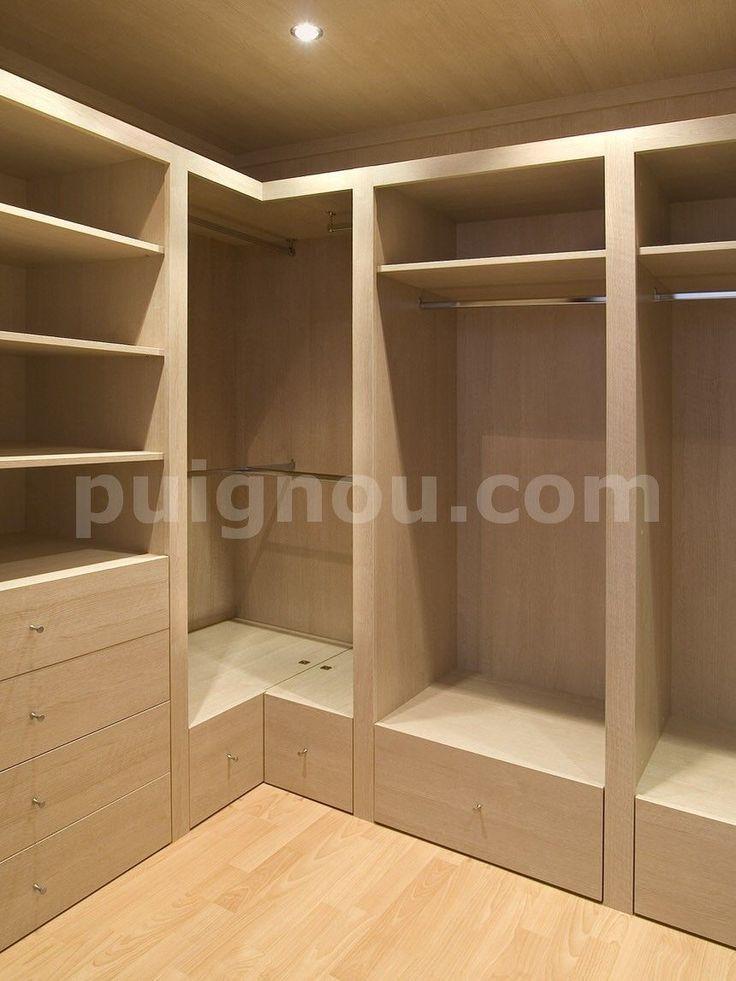 Las 25 mejores ideas sobre hacer un armario en pinterest for Espejos vestidores de pared