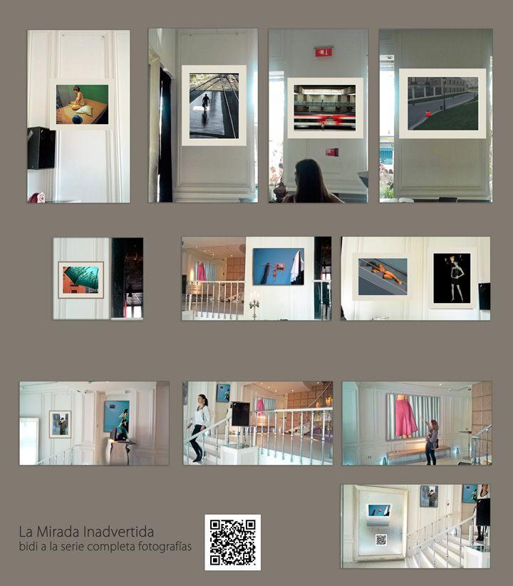 La Mirada Inadvertida... ahí están! ... las fotos expuestas en la Puerta de Alcalá