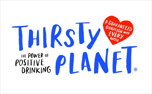 Thompson Brand Partners Rebrand 'Thirsty Planet' Water