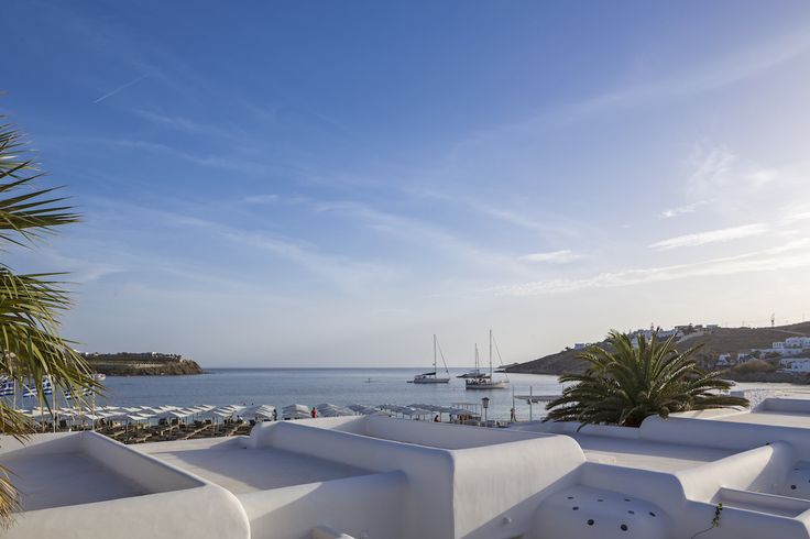 When in the Mykonos Ammos Hotel make sure you take a look out of your window after day brake. The sea is calm and the shadows long. An amazing sense of tranquillity will overcome you and you will know you are experiencing your holidays! #MykonosAmmosHotel #Mykonos #OrnosBeach #HotelInMykonos #MykonosHotel #Ornos #MykonosAmmos #LuxuryHotel #Cyclades #Greece #Summer #girl #woman #AegeanSea #View #Yachts #Room #view