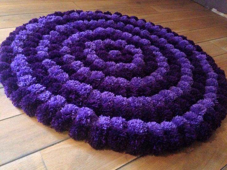 25 best ideas about pom pom rug on pinterest pom pon pom pom diy and rug runners for hallways. Black Bedroom Furniture Sets. Home Design Ideas