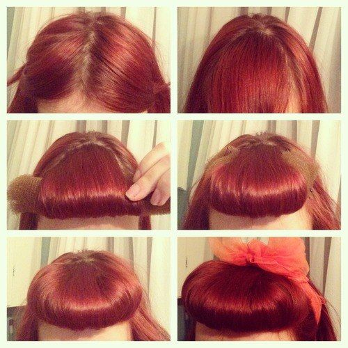 (1) pin up hairstyle | Tumblr