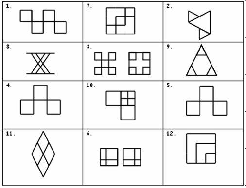 Geometría con palillos - Actividades Lúdicas Educativas