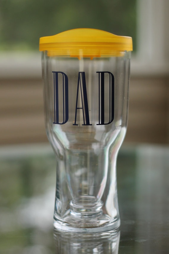 Brew2Go no spill acrylic beer tumbler for Father's Day