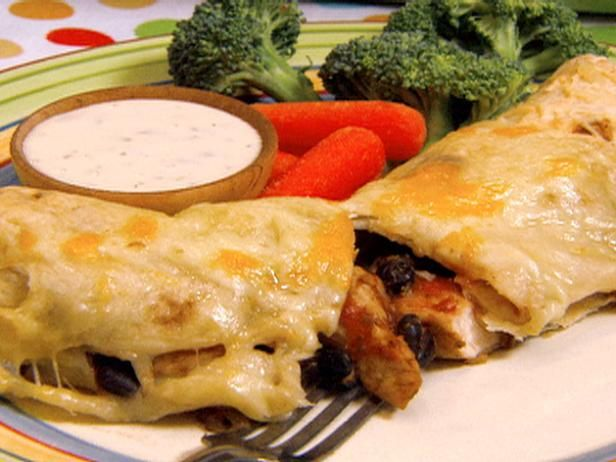 5-star Chicken and Black Bean Enchiladas with Gooey Jack Cheese: Chicken, Black Beans Enchiladas, Chee Recipes, Black Bean Enchiladas, Jack Cheese, Gooey Jack, Jack O'Connell, Robins Miller, Cheese Recipes