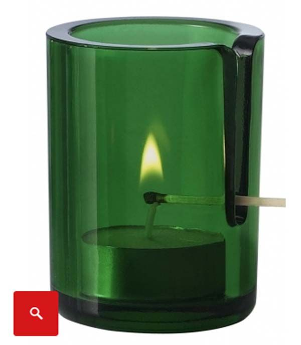 Tea light candle holders that keeps you from burning your fingers.