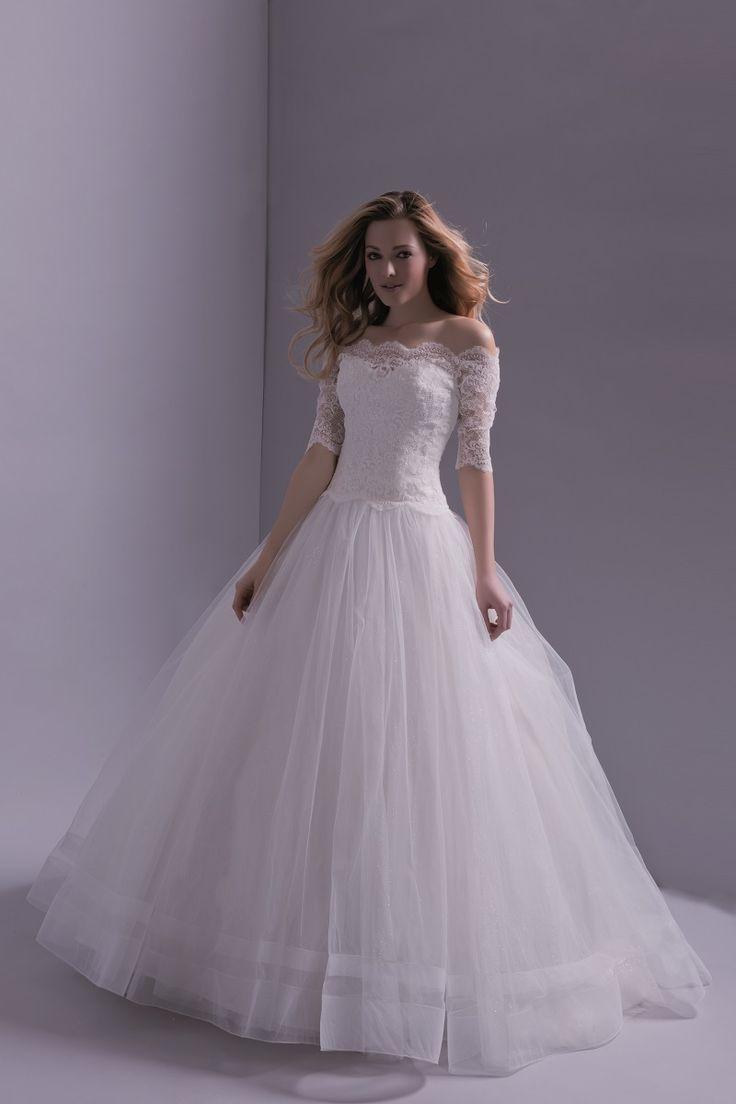 Robe de mariee herve mariage plume