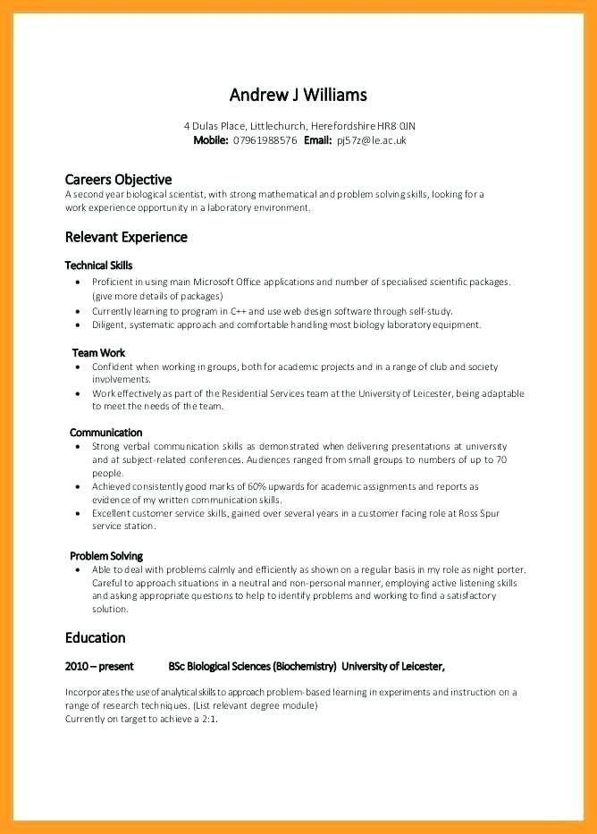 Skills Based Resume Template Free New 7 Best Basic Resume Examples Images On Pinterest Resume Skills Section Resume Skills Basic Resume Examples