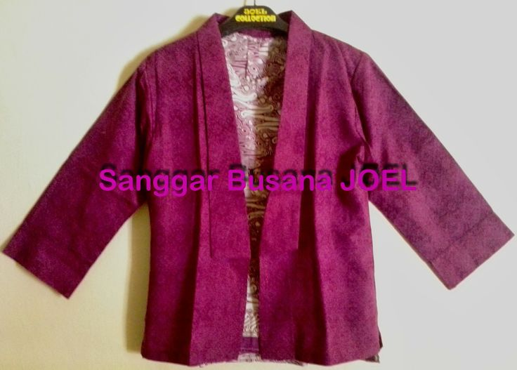 Semi Blazer Batik Embos Pink (Variasi Inner Pink, ...