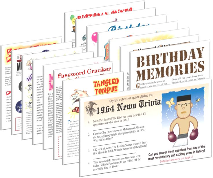 Let The Birthday Party Games Begin Traditional With A Twist Are Great Way To Get Everyone In Spirit