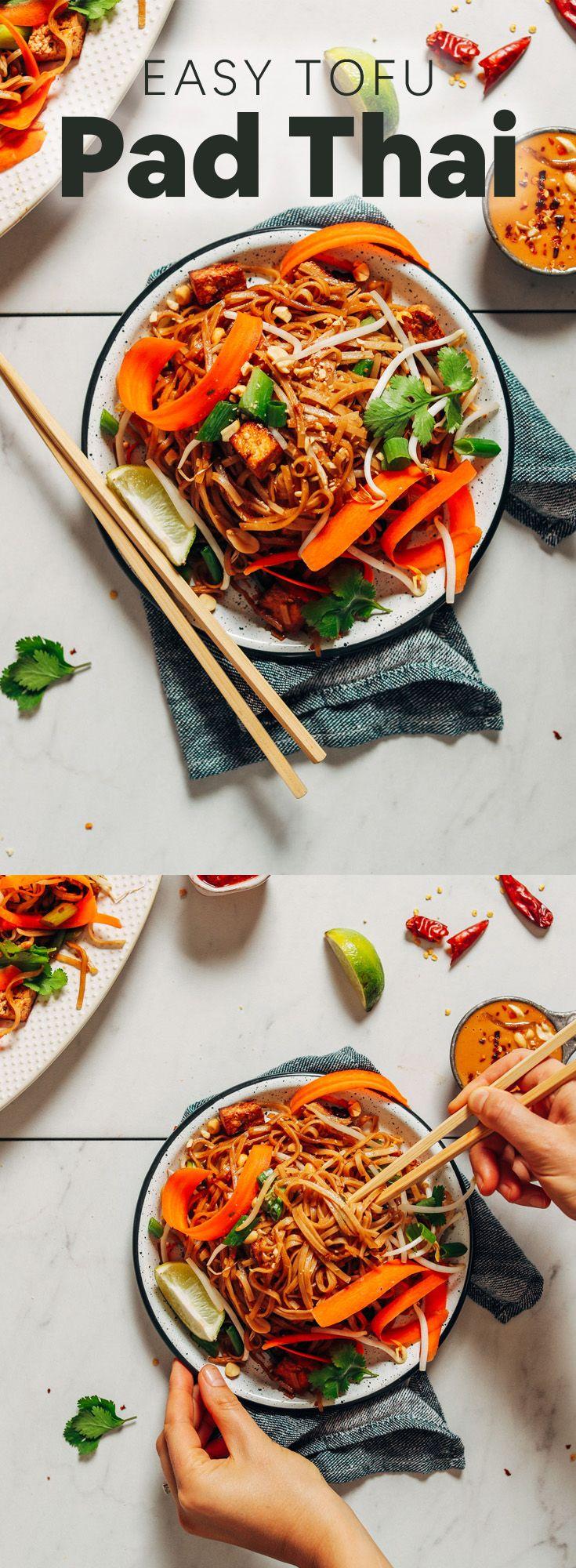 Easy Tofu Pad Thai