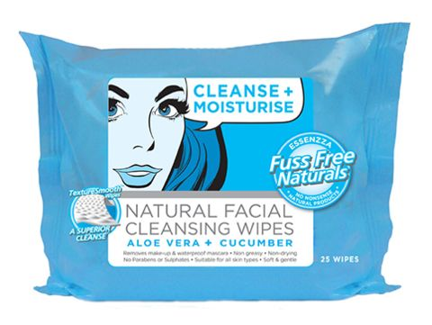 Cleanse + Moisturise Wipes - Essenzza Fuss Free Naturals