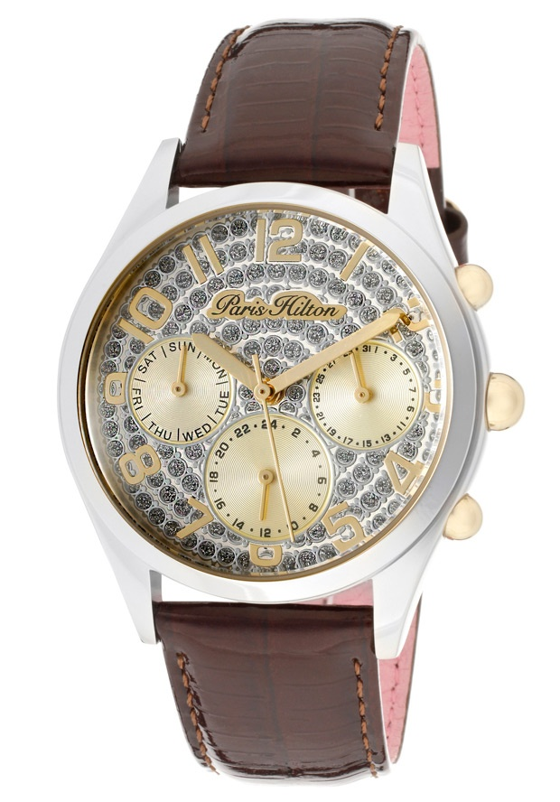 Price:$79.00 #watches Paris Hilton PH13107JS-04C, With designs that embody the effortlessly chic and carefree nature of Paris herself, the Paris Hilton timewear collection offers trend setting designs to suit any occasion.