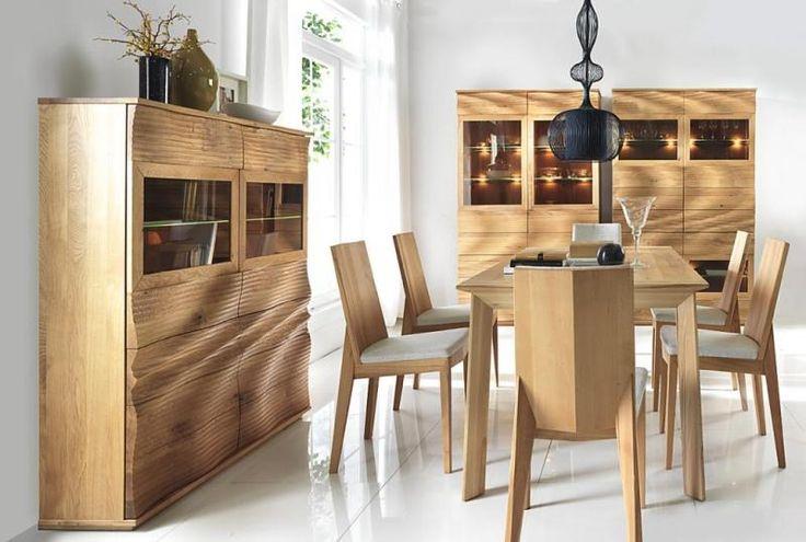 KLOSE K9 Nappalibútor - A tömör tölgyfából vagy tömör, gesztes bükkfából készült K-9-es bútorcsalád