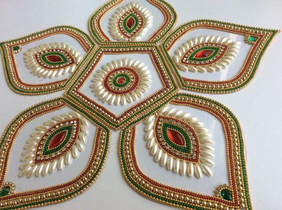 Traditional Bridal colors Five petals Matka shapes by Kalakruti