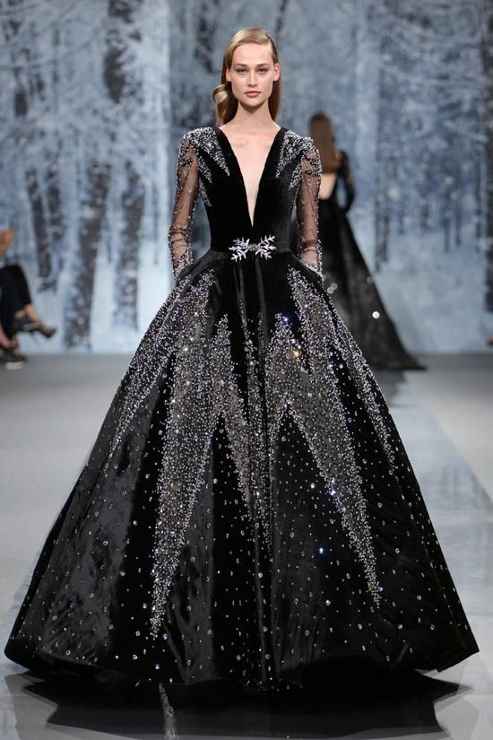 MaySociety — Ziad Nakad Haute Couture FW 17-18 –The Snow… – ♛Bea-Ansel Mayer ♛