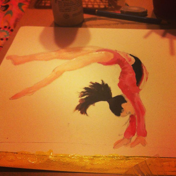 gymnastics by Skylyr.deviantart.com on @deviantART