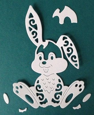 Tattered Lace Hare die cut shapes. in  | eBay!