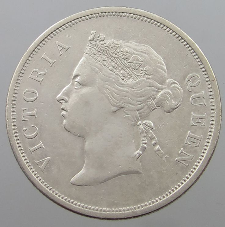 STRAITS SETTLEMENTS 50 CENTS 1887 RARE TOP #nc 065 | eBay