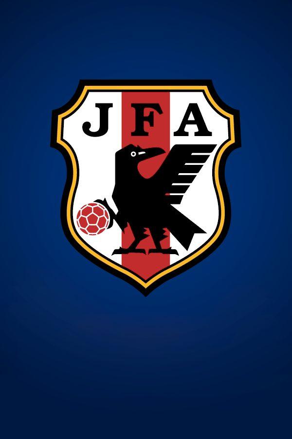 """Yata-garasu LOGO : JFA (Japan Football Accociation) : """"Samurai Blue"""" Japan : 2014 FIFA World Cup Brazil : #SamuraiBlue"""