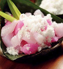 Cenil Merah Putih, Resep Sajian khas Indonesia  Bahan yang perlu disiapkan:   250 gr tepung kanji sedikit garam  1 sendok makan terigu  1...