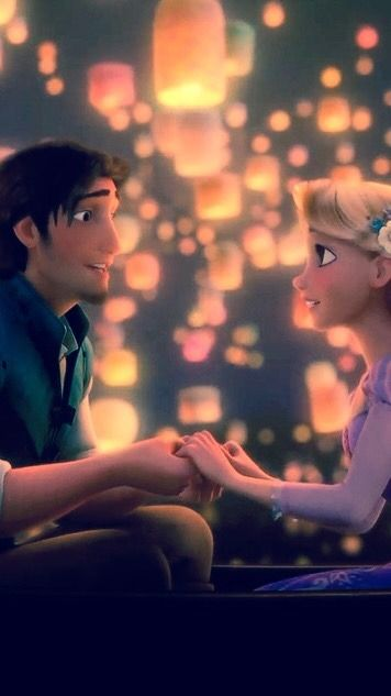 Favorite Disney movies - #1 - Tangled Feel free to use or save but please give a like/reblog if you do Send me your requests for more wallpapers or icons!