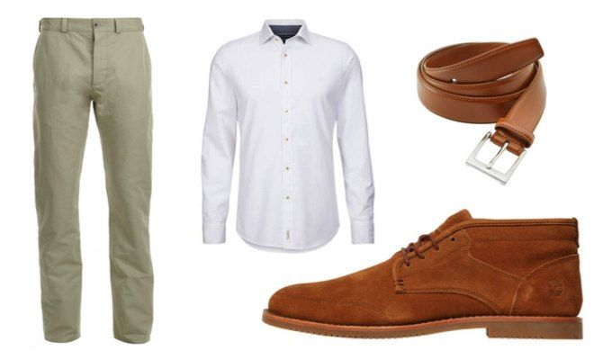 How To Wear Chukka Boots With Chinos And A Shirt Men39s