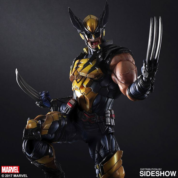 Marvel wolverine 25 pinterest the wolverine variant play arts kai collectible figure by square enix is available at sideshow voltagebd Images