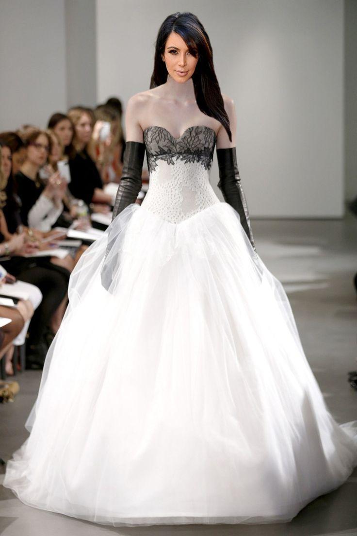 The 25 Best Kim Kardashian Wedding Dress Ideas On Pinterest