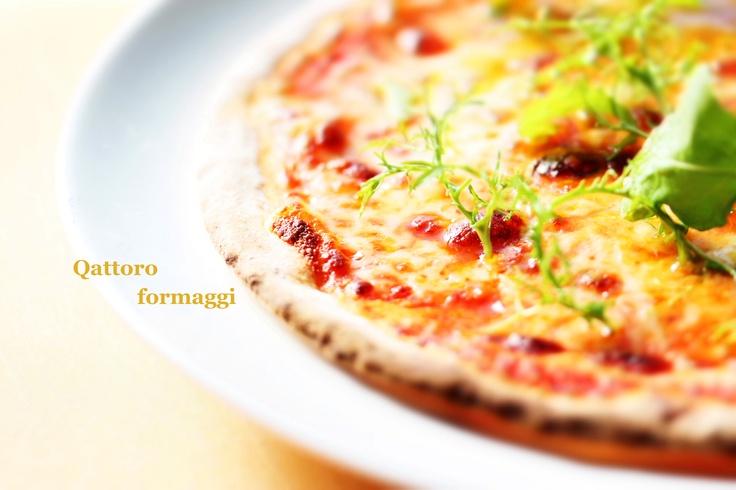 Pizza Qattoro formaggi