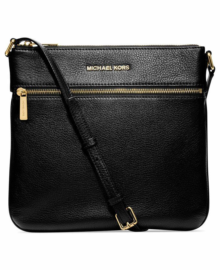 michael michael kors handbag bedford flat crossbody handbags accessories macy 39 s bags. Black Bedroom Furniture Sets. Home Design Ideas