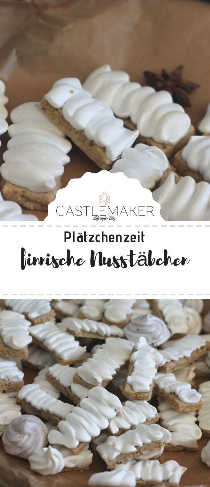 REZEPT finnische Nussstäbchen – Backen im Advent / Weihnachtsbäckerei