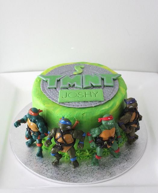 ninja turtle cakes | Teenage Mutant Ninja Turtle Cake | Flickr - Photo Sharing!