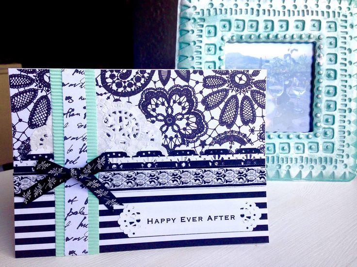 Handmade Wedding Card