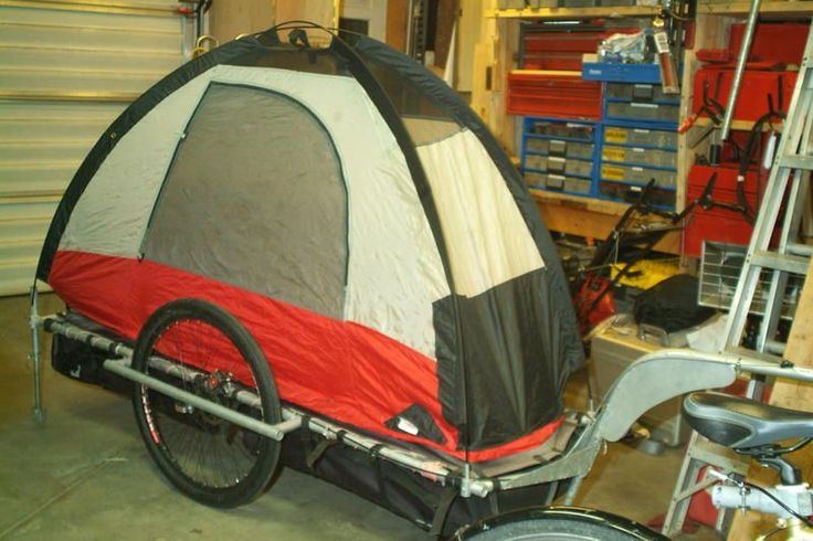 bicycle+trailer | Bike Trailer Tent Camper