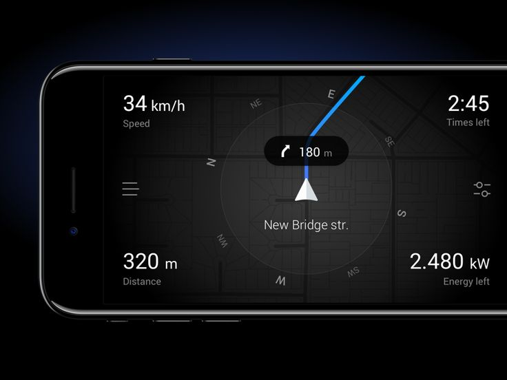 Gps Navigations for Electric Cars by Artyom Khamitov
