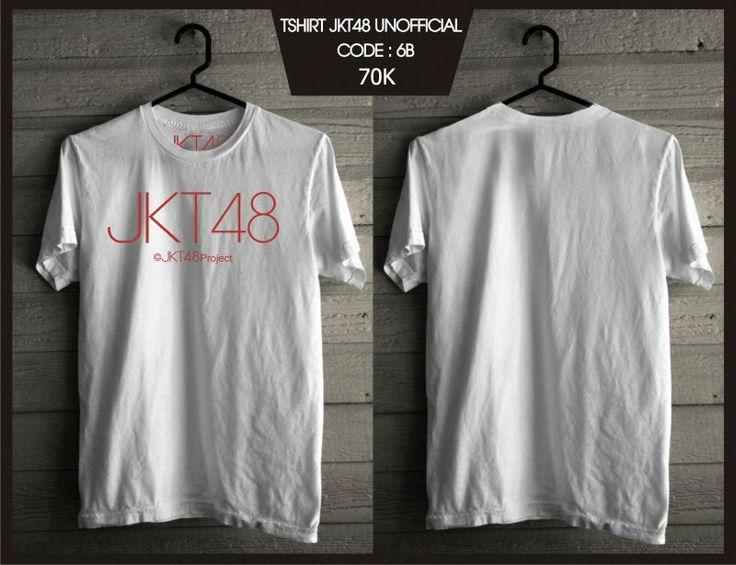 Kaos JKT48 - Pro White -  SMS 0838 077 97257