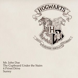 Printable Hogwarts Letter. Fill in the blank and it creates your very own Hogwarts letter.