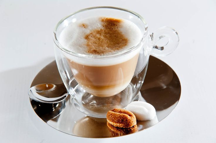 cappuccino with sugar coffee beans