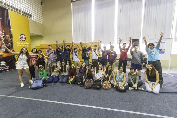 Bienvenidos a la UNAB, alumnos de Ciencias Sociales
