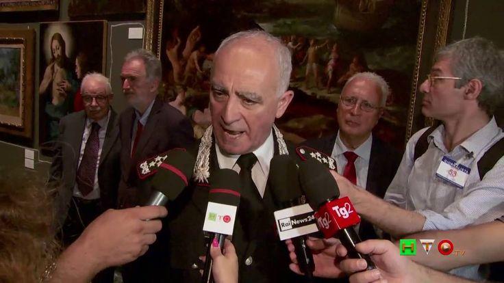 L'Arma per l'Arte e la Legalità - Intervista Com. Generale CC Gen. Tulli...