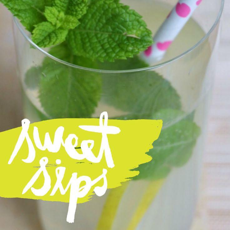 Limonata fatta in casa con la menta fresca http://www.babygreen.it/2016/06/limonata-fatta-casa-la-menta-fresca/