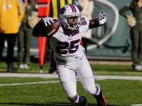 Injuries: LeSean McCoy suffers high ankle sprain - NFL.com