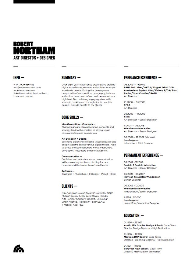 21 best images about well designed resumes on