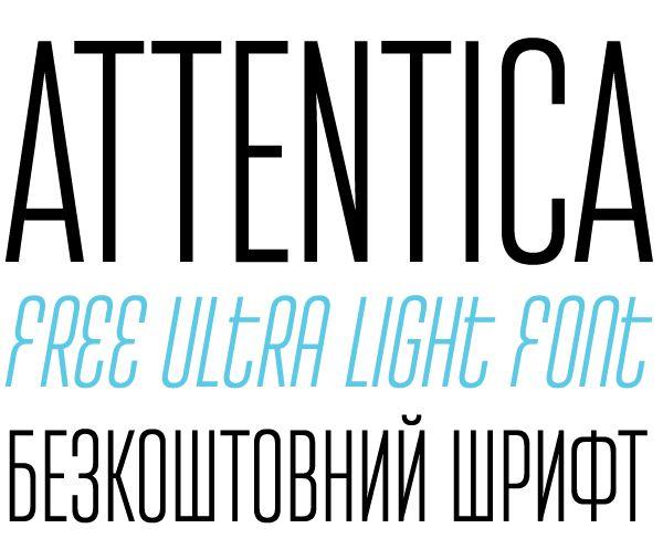 Attentica by Sergiy Tkachenko, via Behance