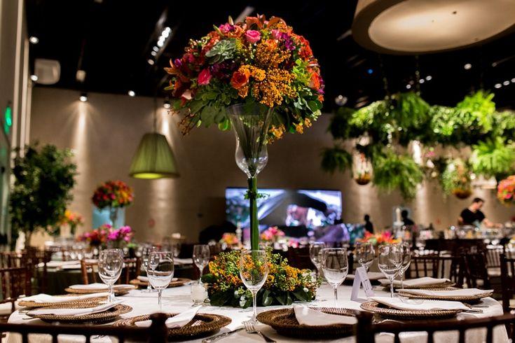 Casamento rústico-chique - Centro de mesa - Foto Narciso de Souza Fotografias